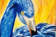 Blue-Flamingo