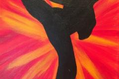 Karate Includes a stencil!